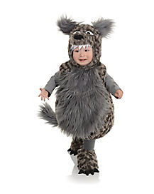 Toddler Belly Babies Wolf Costume