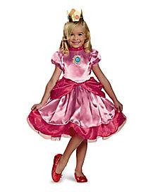 Toddler Princess Peach Costume - Mario Bros.