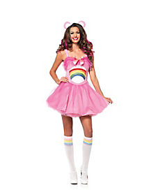 Adult Cheer Bear Costume - Care Bear