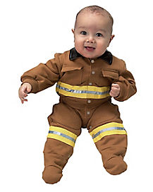 Baby Firefighter One Piece Costume