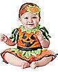 Baby Pumpkin Patch Princess One Piece Costume