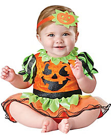 Baby Pumpkin Patch Princess One Piece Costume