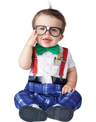 60s 70s Kids Costumes & Clothing Girls & Boys Baby Nursery School Nerd Costume by Spirit Halloween $29.99 AT vintagedancer.com
