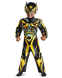 Toddler Light Up Bumblebee Costume - Transformers