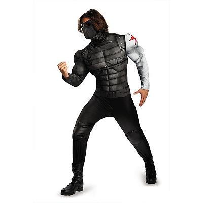 Adult Winter Solider Plus Size Costume - Captain America Winter Solider