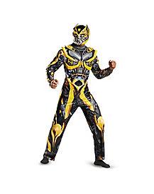 Adult Bumblebee Costume Deluxe- Transformers Movie