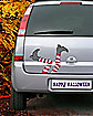 Witch Legs Car Magnet