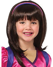 Kids Dora and Friends Wig - Nickelodeon