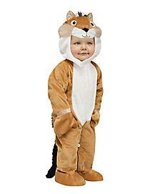 Toddler Chipmunk One Piece Costume