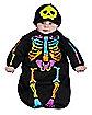 Baby Bunting Skeleton Costume