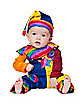 Baby Cutie Clown Costume