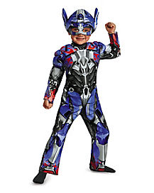 Toddler Muscle Optimus Prime Costume - Transformers