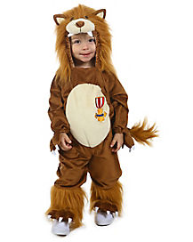 Baby Cowardly Lion One Piece Costume - Wizard of Oz