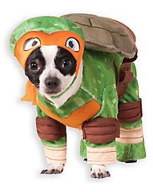 TMNT Michelangelo Dog Costume - Teenage Mutant Ninja Turtles