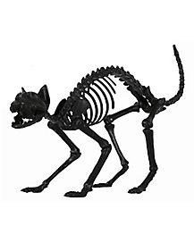 1.5 Ft Black Skeleton Cat - Decorations