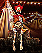 3 Ft Banjo Playing Skeleton Clown - Decorations
