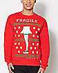 Fragile Leg Lamp A Christmas Story Sweatshirt
