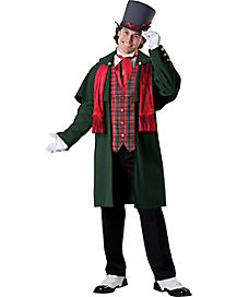 Adult Yuletide Gent Costume - Theatrical