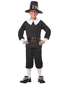 Kids Pilgrim Boy Costume