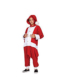 Kids Santa One Piece Costume