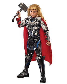Kids Thor Costume Deluxe - Marvel