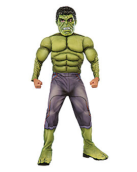 Kids Hulk Costume Deluxe- Avengers: Age of Ultron