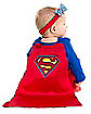Supergirl Caped Dress Infant Costume