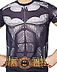 Dark Knight Caped Costume T Shirt - DC Comics