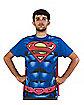 Superman Cape Subliminal T Shirt Costume