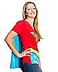 Wonder Woman Caped Womens Shirt