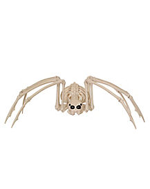 3.5 ft Wide Giant Poseable Skeleton Spider - Decorations