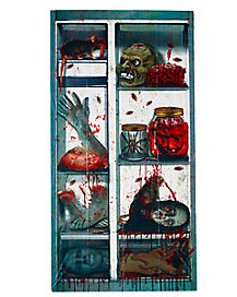 Creepy Refrigerator Door Cover - Decoration