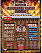 4 Piece Evil Carnival Game Decor