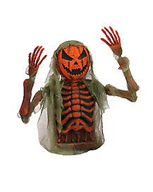 Skeleton Pumpkin Grave Breaker - Decorations