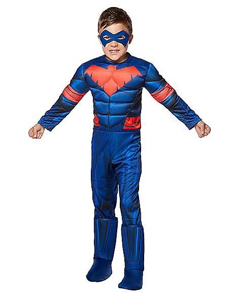 Kids Nightwing Costume Deluxe - DC Comics  sc 1 st  Spirit Halloween & Kids Nightwing Costume Deluxe - DC Comics - Spirithalloween.com