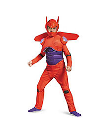 Kids Red Baymax Costume Deluxe - Big Hero 6