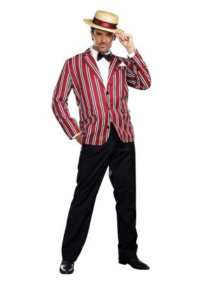 1930s Men's Clothing Mens Good Time Charlie Costume by Spirit Halloween $54.99 AT vintagedancer.com