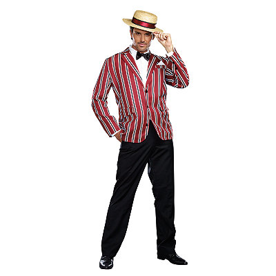 7 Easy 1920s Men's Costumes Ideas Adult Good Time Charlie Costume $54.99 AT vintagedancer.com