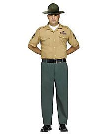 Adult Marine Costume - Deluxe