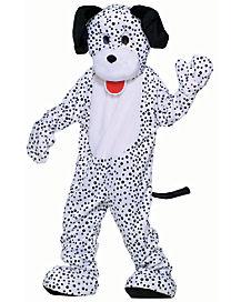 Adult Dalmatian Dog Mascot Costume - Deluxe