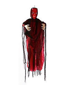 6 ft light up devil decorations - Halloween Decoration Sales
