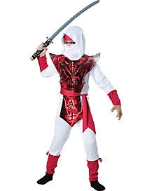 Kids Ghost Ninja Costume