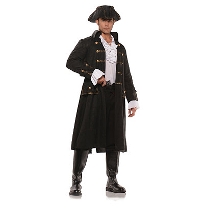 Adult Captain Dark Water Pirate Costume