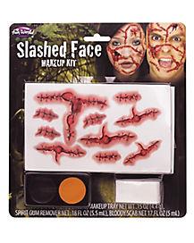 Slashed Face Makeup Kit