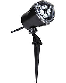 Whirl-A-Motion LED White Ghost Projection Spotlight
