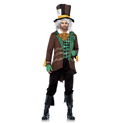 Steampunk Clothing- Men's Adult Mad Hatter Costume $69.99 AT vintagedancer.com