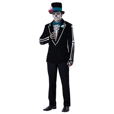 Steampunk Clothing- Men's Adult El Novio Muerto Costume $59.99 AT vintagedancer.com