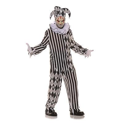 Roaring 20s Costumes- Cheap Flapper Dresses, Gangster Costumes Adult Evil Harlequin Costume $49.99 AT vintagedancer.com