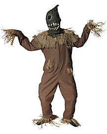 Adult Scarecrow One Piece Costume - Theatrical