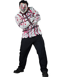 Adult Carnival Killer Clown Plus Size Costume